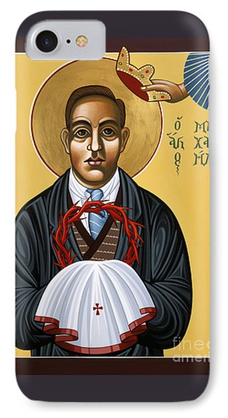 Holy New Martyr Padre Miguel Pro 119 IPhone Case