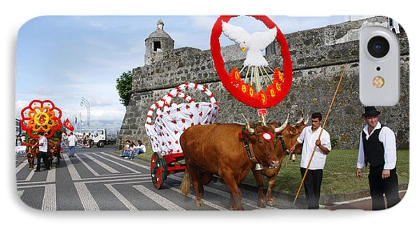 Holy Spirit Festivities Phone Case by Gaspar Avila