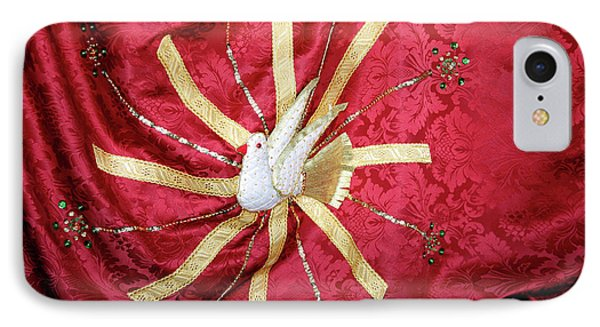 Holy Spirit Flag Phone Case by Gaspar Avila