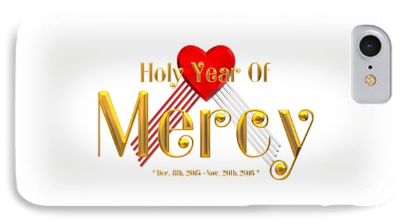 Holy Year Of Mercy IPhone Case