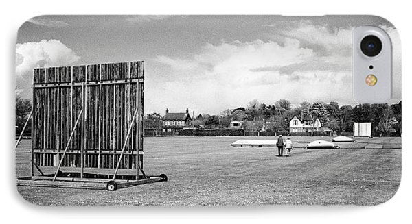 Holywood Cricket Club Pitch Northern Ireland IPhone Case