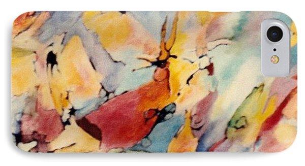 Homage A Kandinsky IPhone Case by Bernard Goodman