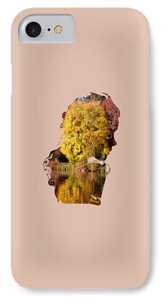 Extraordinary Homage Mother Earth IPhone Case by Johannes Murat