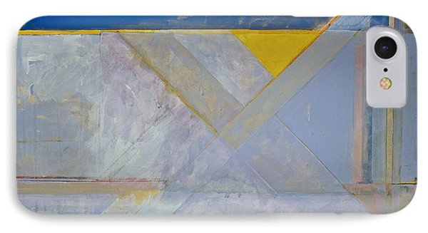 Homage To Richard Diebenkorn's Ocean Park Series  IPhone Case by Cliff Spohn
