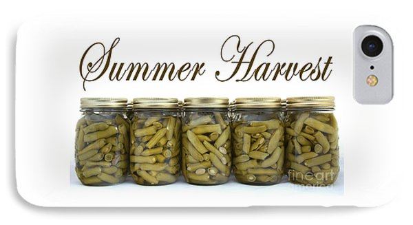 Home Canned Green Beans Summer Harvest IPhone Case