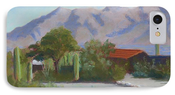 Home In The Catalinas IPhone Case by Susan Woodward