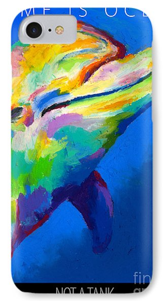 IPhone Case featuring the painting Home Is Ocean by Stephen Anderson