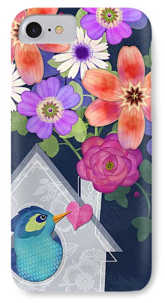 Home Is Where You Bloom IPhone 7 Case