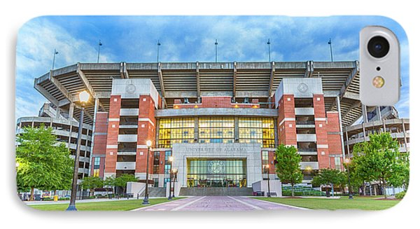 Home Of Champions -- Bryant-denny Stadium IPhone Case by Stephen Stookey