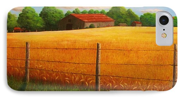 Home On The Farm IPhone Case by Gene Gregory
