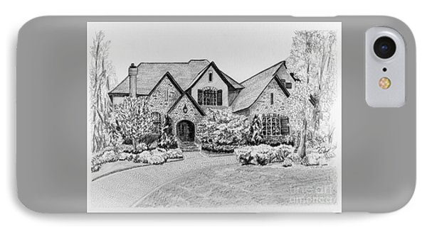Home Portrait 2043 IPhone Case by Robert Yaeger