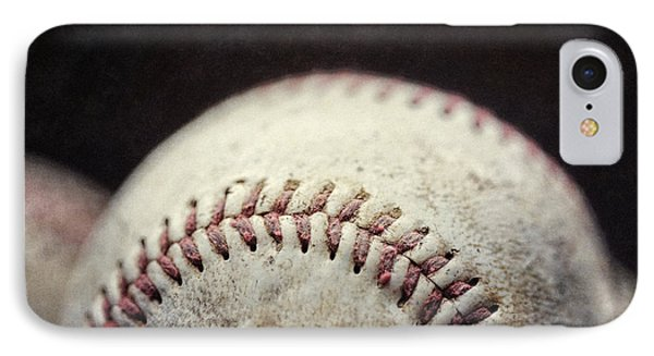 Home Run Ball Phone Case by Lisa Russo
