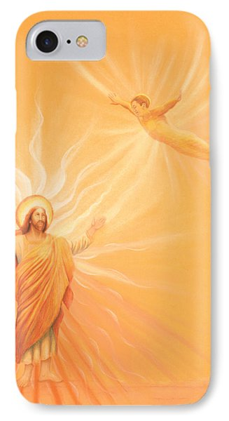 Homecoming To Jesus IPhone Case by Robin Aisha Landsong