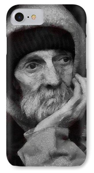 Homeless IPhone Case by Gun Legler