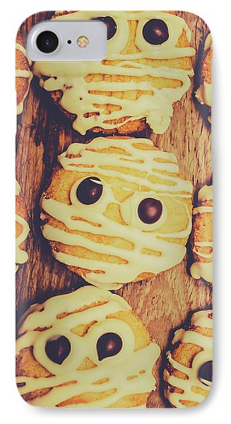 Homemade Mummy Cookies IPhone Case by Jorgo Photography - Wall Art Gallery