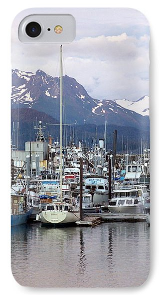 Homer Harbor Phone Case by Marty Koch