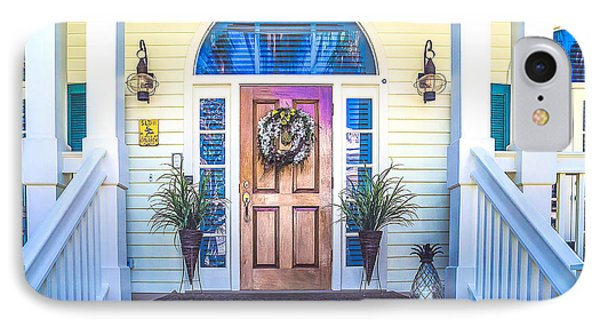 IPhone Case featuring the photograph Homes Of Key West 10 by Julie Palencia