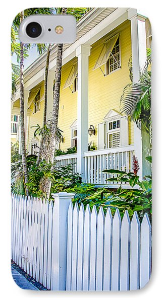 IPhone Case featuring the photograph Homes Of Key West 14 by Julie Palencia