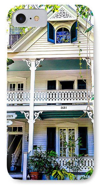 IPhone Case featuring the photograph Homes Of Key West 2 by Julie Palencia