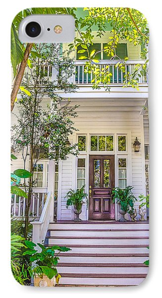 IPhone Case featuring the photograph Homes Of Key West 4 by Julie Palencia