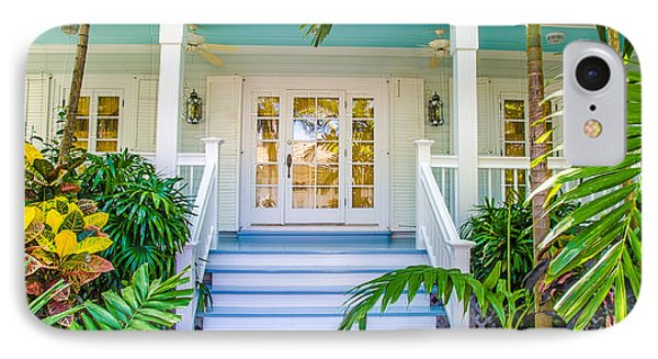 IPhone Case featuring the photograph Homes Of Key West 5 by Julie Palencia