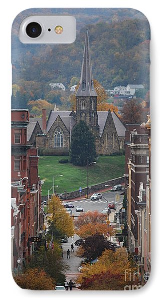 My Hometown Cumberland, Maryland IPhone Case by Eric Liller