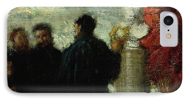 Hommage A Eugene Delacroix IPhone Case by MotionAge Designs