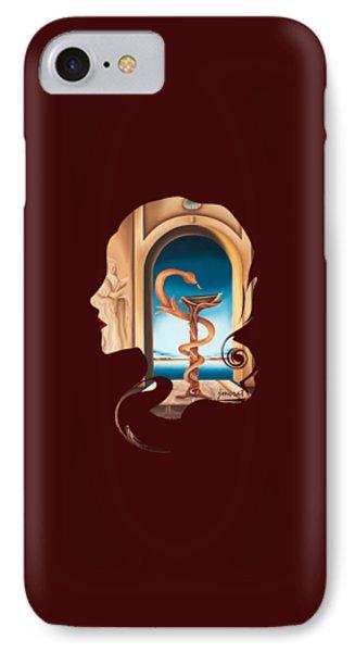 Hommage Madame Docteur, Art Prints IPhone Case by Johannes Murat