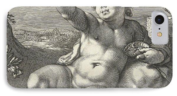 Homo Bulla IPhone Case by Hendrik Goltzius