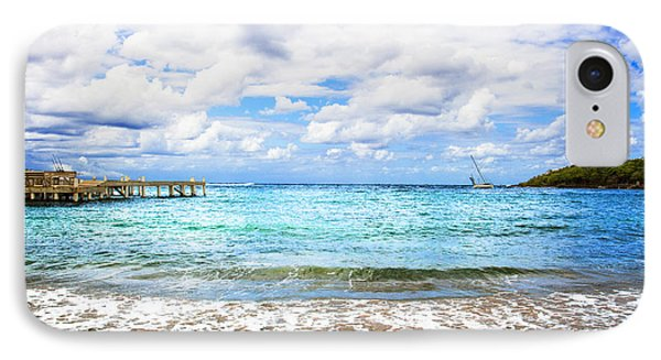 Honduras Beach IPhone Case by Marlo Horne