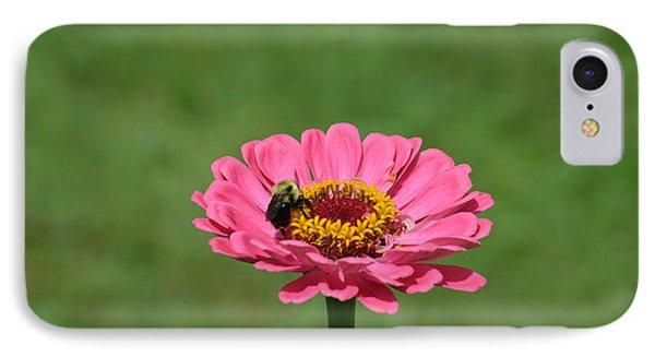 Honey Bee At Work Phone Case by Linda Geiger