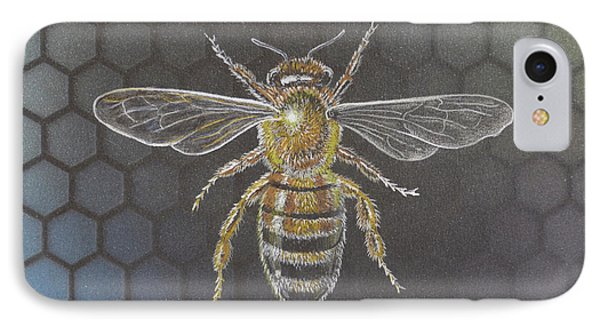 Honey Bee IPhone Case by Sandy Balkow