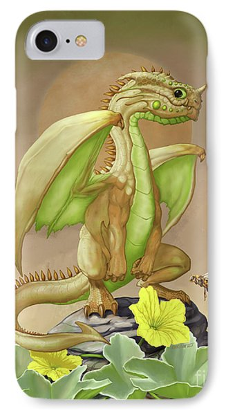 IPhone Case featuring the digital art Honey Dew Dragon by Stanley Morrison
