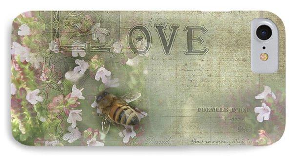 Honey Love IPhone Case by Victoria Harrington