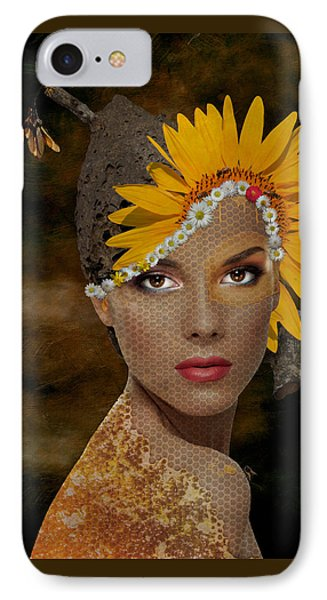 IPhone Case featuring the digital art Honey by Nola Lee Kelsey