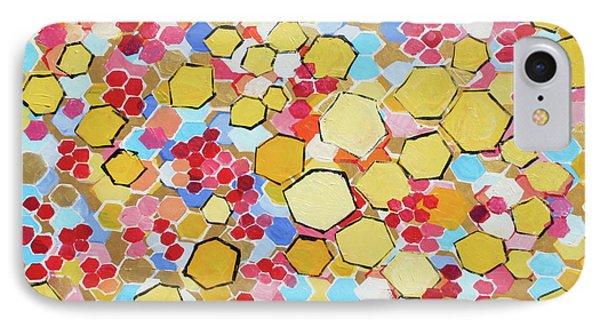 Honeycomb 201755 Phone Case by Alyse Radenovic