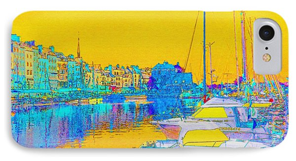 Honfleur Normandy France IPhone Case by Ann Johndro-Collins