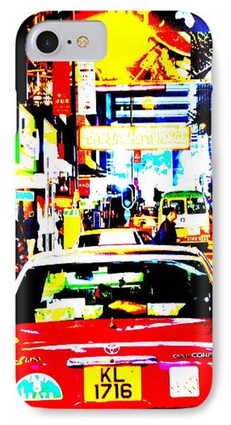 Hong Kong Cabs Phone Case by Funkpix Photo Hunter