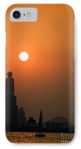 Hong Kong Coast Phone Case by Ray Laskowitz - Printscapes