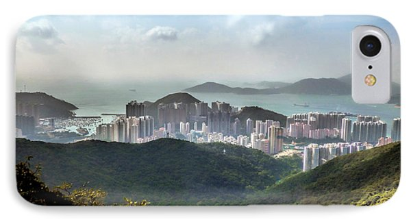 Hong Kong From Victoria Peak IPhone Case by Lynn Bolt