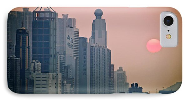 Hong Kong Island Phone Case by Ray Laskowitz - Printscapes