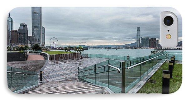 Hong Kong Island Waterfront Promenade IPhone Case