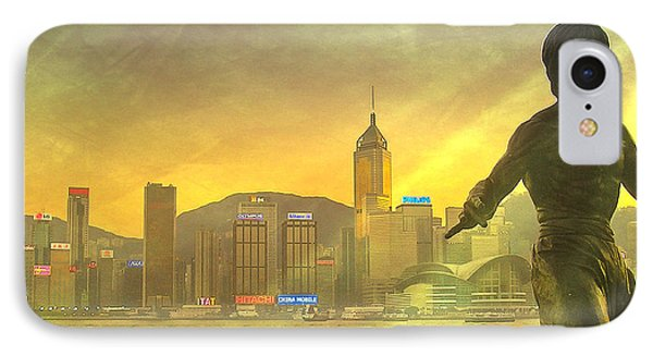 Hong Kong Lights Phone Case by Loriental Photography