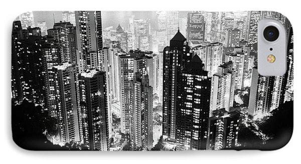 Hong Kong Nightscape IPhone Case by Joseph Westrupp
