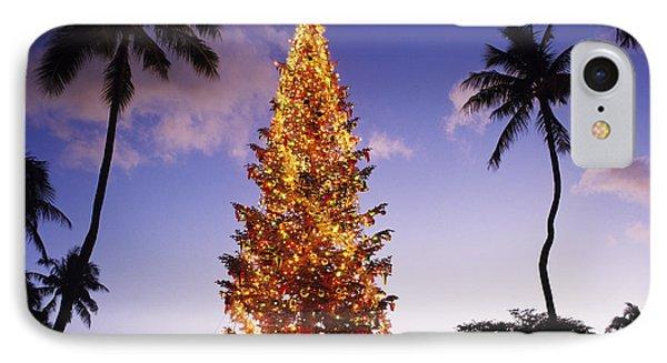 Honolulu Christmas Phone Case by Kyle Rothenborg - Printscapes