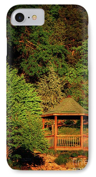 Honor Heights Gazebo In Vertical IPhone Case by Tamyra Ayles