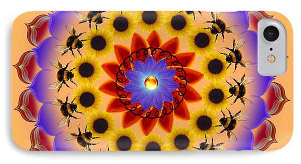 Honor The Bees Phone Case by Elizabeth Alexander
