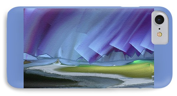 Honoring The Rainbow IPhone Case by Lenore Senior