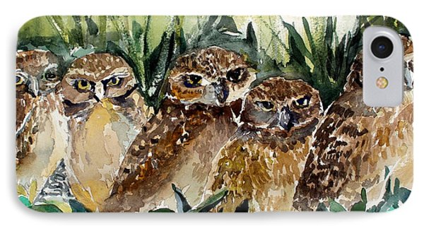Hoo Is Looking At Me? IPhone Case by Mindy Newman