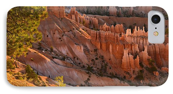 IPhone Case featuring the photograph Hoodoos At Sunrise by Stephen  Vecchiotti